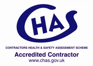 CHAS Safe Contractor Logo