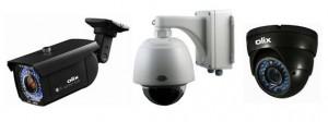 CCTV Cameras Pan Tilt Zoom, Dome & Bullet Examples
