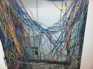 Bad Cat5e Patching