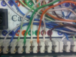 Cat5 Wired with Wrong Colours