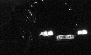 Numberplate Zoomed CCTV Camera
