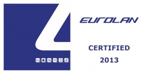 eurolan certified data cable installer logo