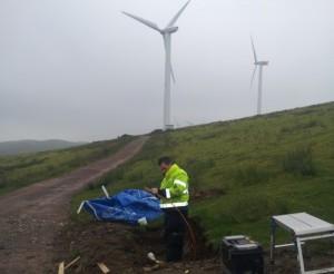 Wind Turbine Fibre Matt