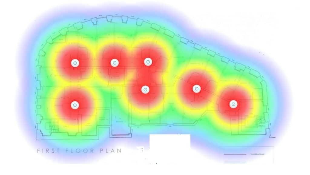 WIFI Heat Map